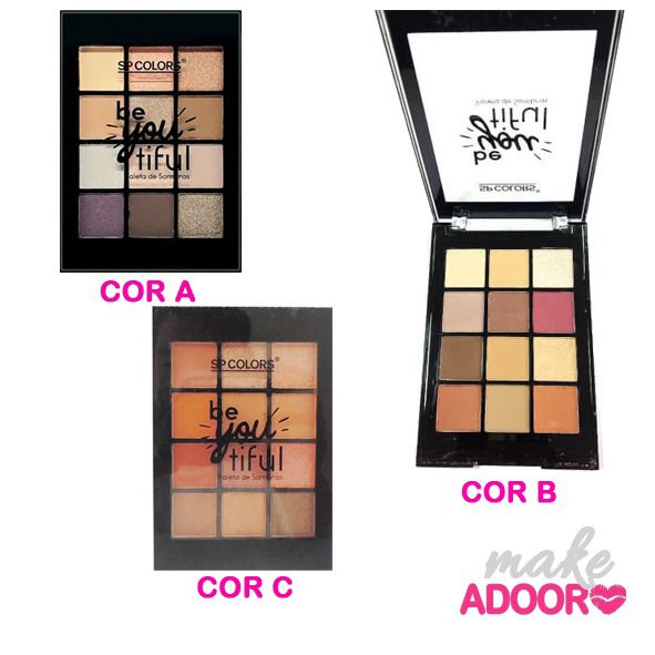 Paleta de Sombras Be You Tiful SP Colors