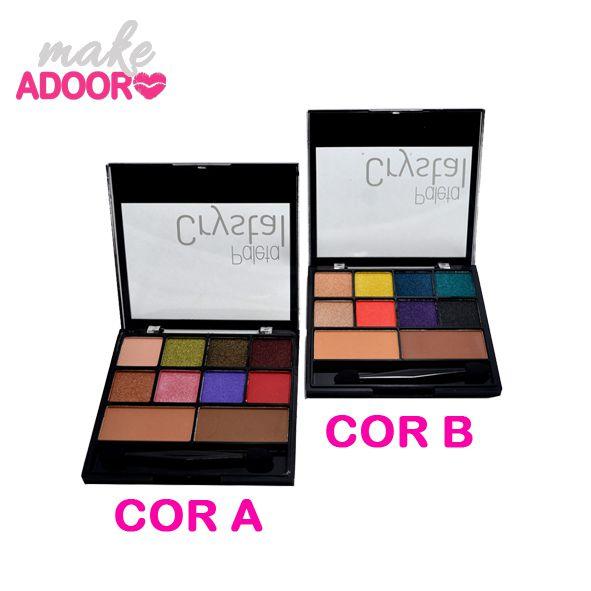 Paleta de Sombras Crystal Luisance Modelos A e B