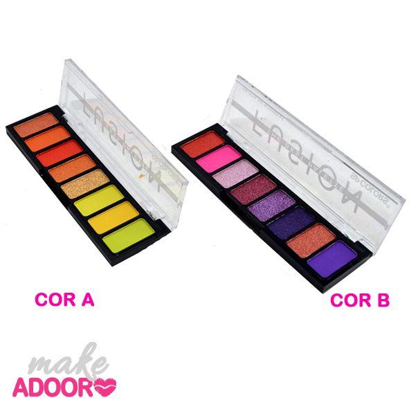 Paleta de Sombras Fusion SP Colors