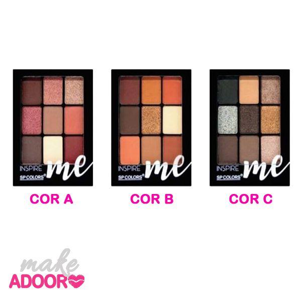 Paleta de Sombras Inspire-Me SP Colors