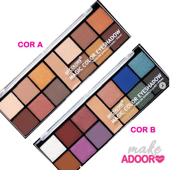 Paleta de Sombras Magic Color Eyeshadow SP Colors