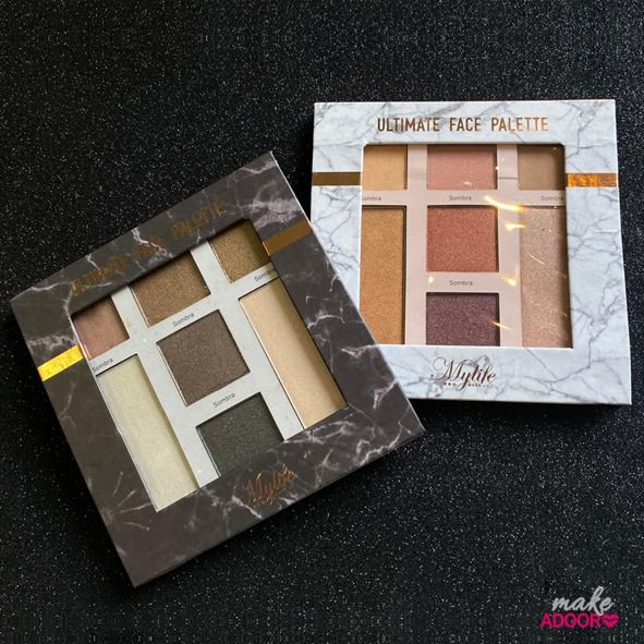Paleta de Sombras Ultimate Face Palette Mylife