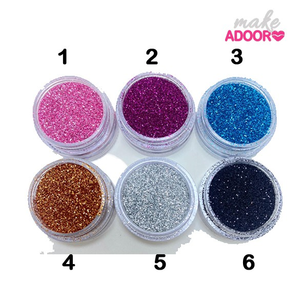 Pigmento Glitter Miss Rosê