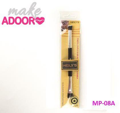 Pincel Duplo Kabuki Precisão e Sombra Meily's MP-08A