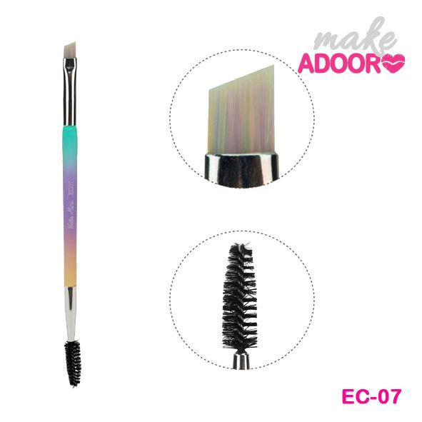 Pincel EC07 Duplo Escova e Chanfrado Hello Mini