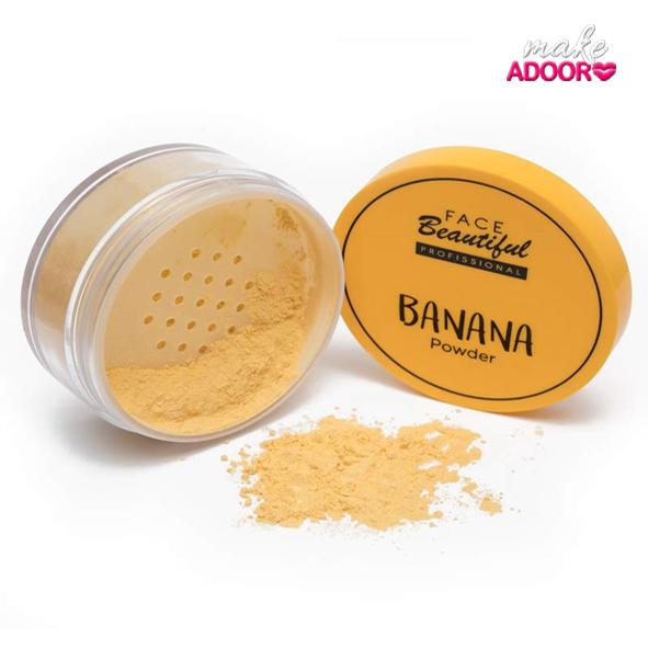Pó Banana Facebeauty