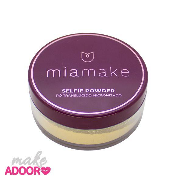 Pó Translucido Microfizado Selfie Powder Mia Make