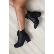 Bota Lace Black