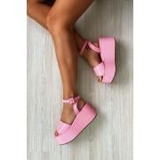 Flatform Malika Pink