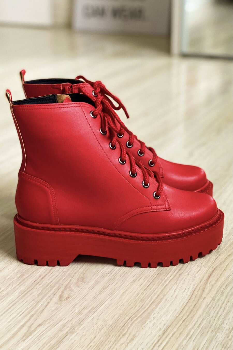 Bota Cindy Red