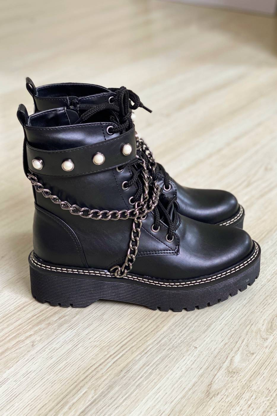 Bota Lauren Black
