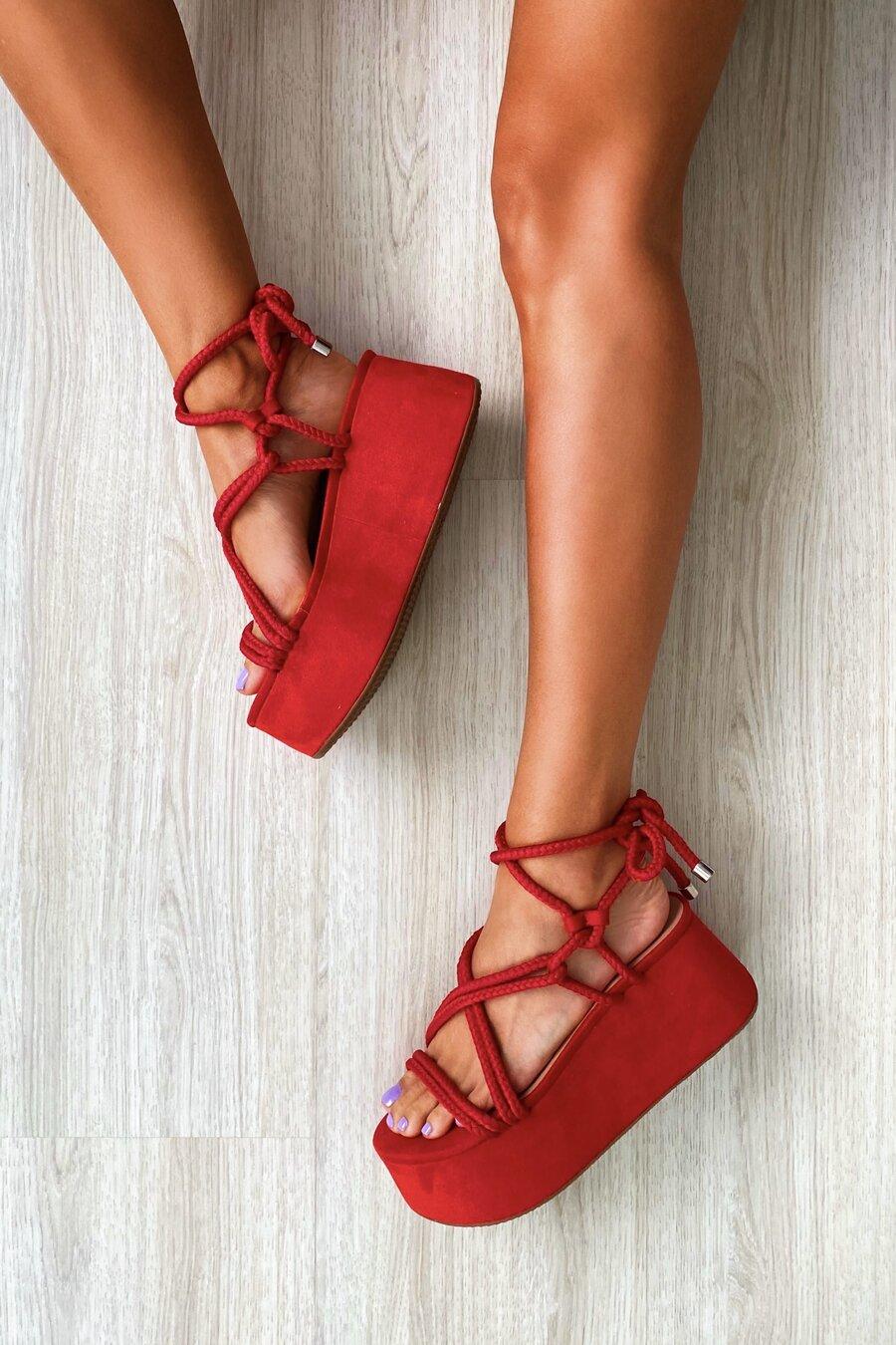 Flatform Marina Red
