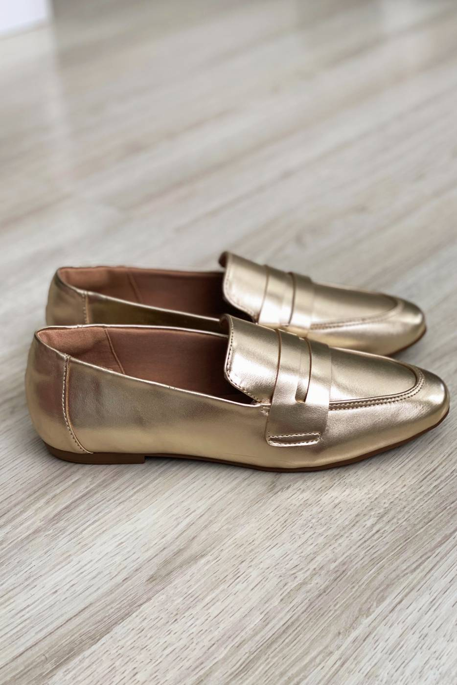 Mocassim Juliana Gold