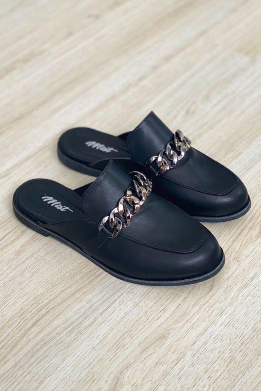 Mule Chain Black