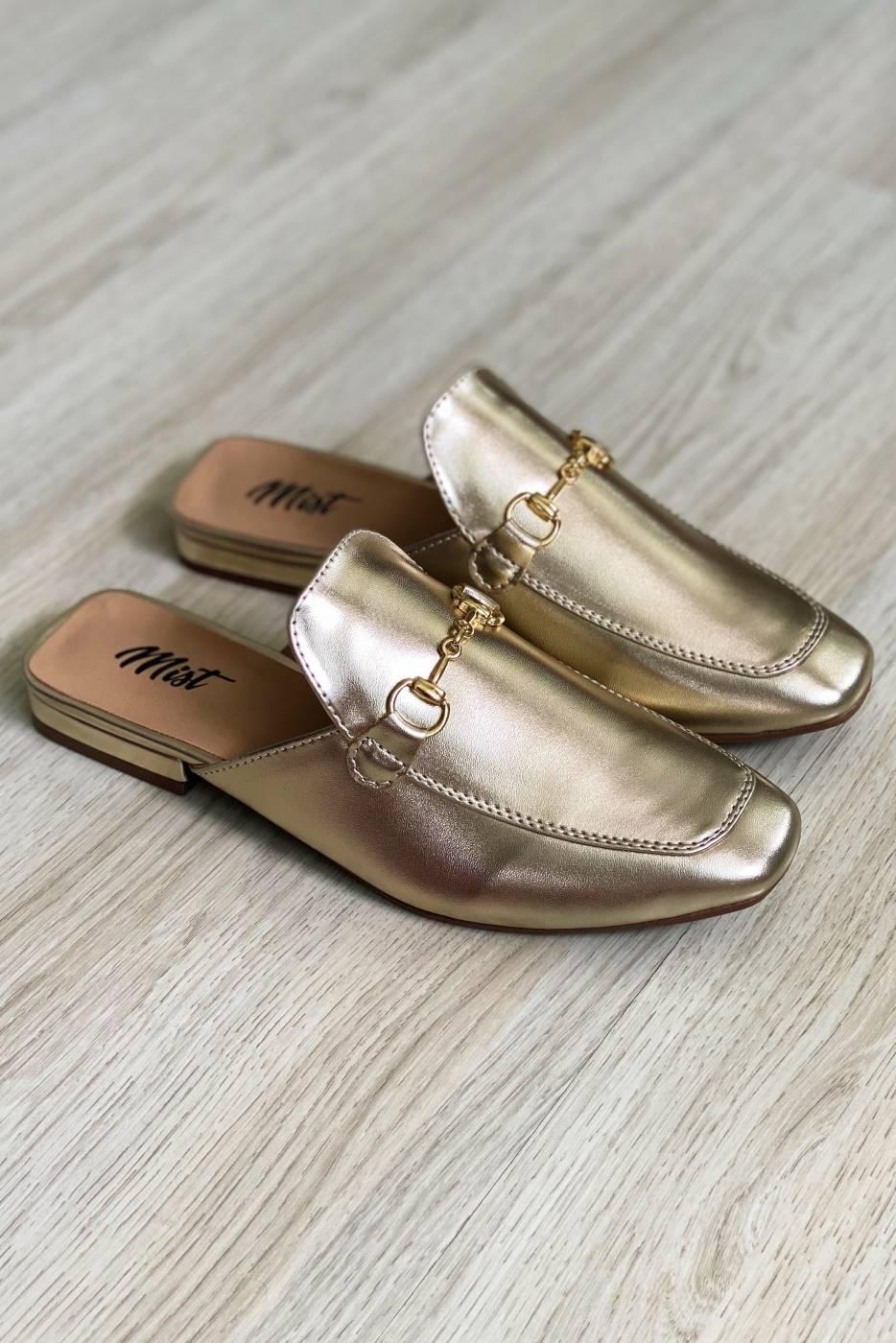 Mule Lola Gold