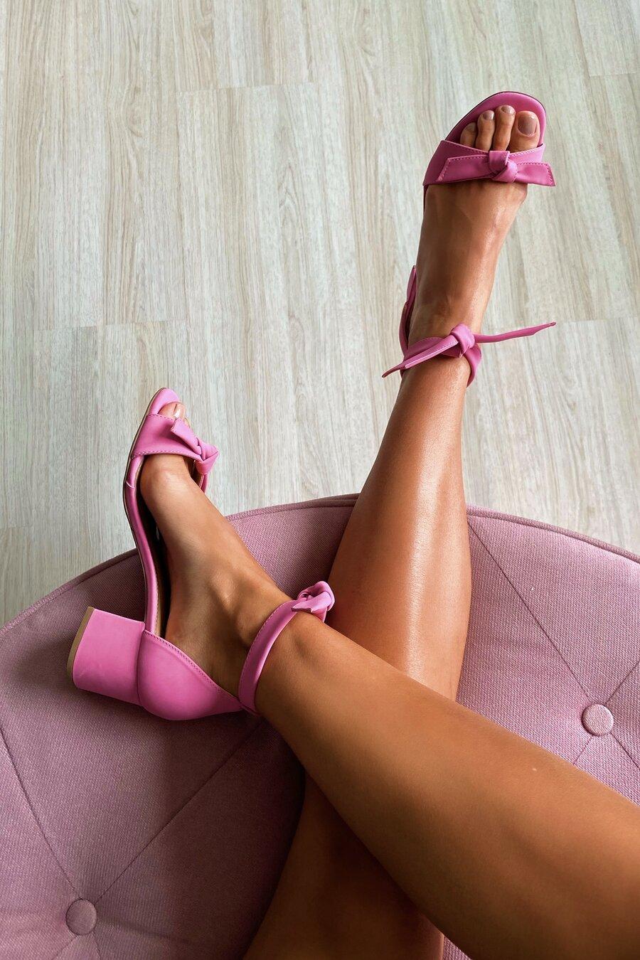 Sandália Loulou Pink