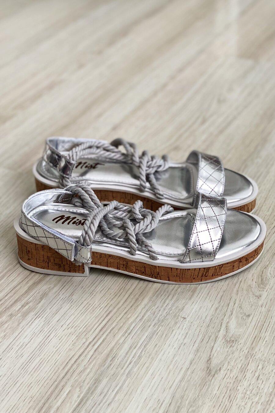 Sandália Maju Silver
