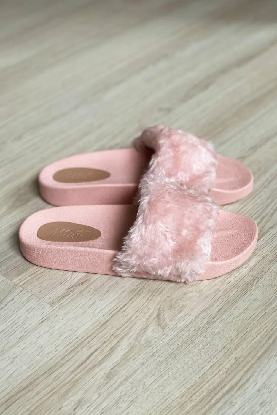 Slide Fluffy Rosa
