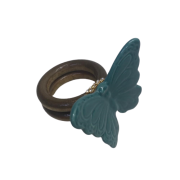ANEL BUTTERFLY ORPHEUS AZUL