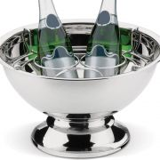 Champanheira de Aço Inox com Separador para 3 Garrafas 6lts- Lyon 2347/100 Brinox