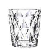 Jogo 6 Copos de Vidro Diamond Clear
