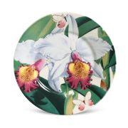 Jogo 6 Pratos Sobremesa Monaco Orchids - Porto Brasil