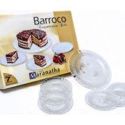 Jogo Bolo Barroco 7 pçs - Maranatha