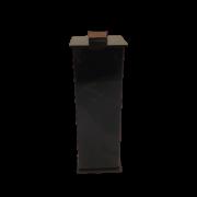 Porta  Escova  Elegance Preto