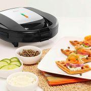 Sanduicheira e Máquina de Waffles em Inox 3892-017 - Oster