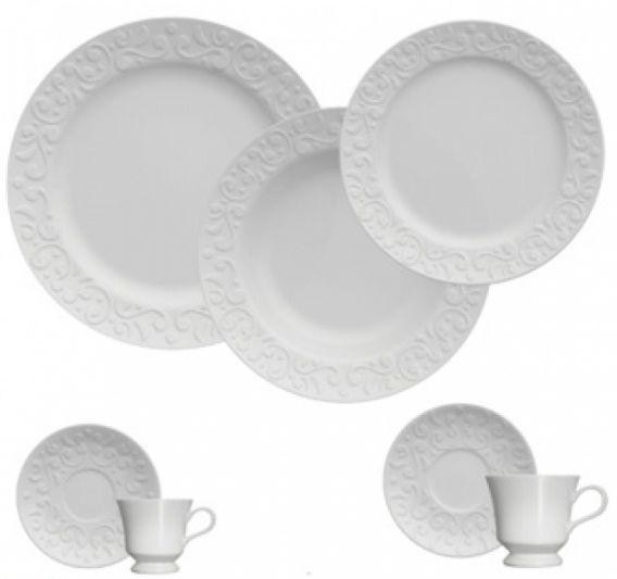 Aparelho de Jantar/Chá/Café Tassel 42 pçs - Germer