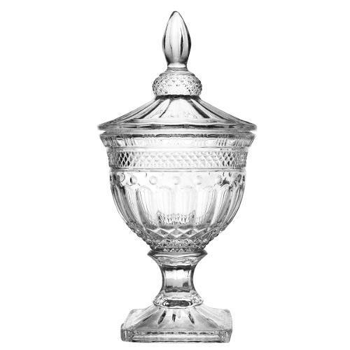 Bomboniere Cristal Ecol  c/pé 38,3 cm Florence