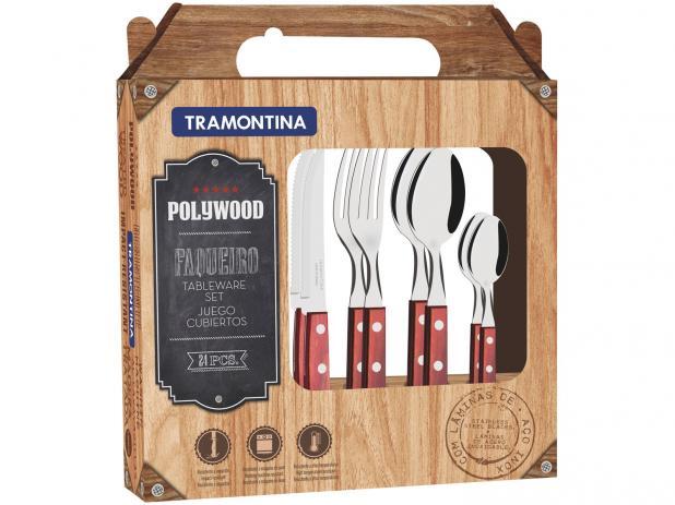 Faqueiro 24 pçs 21199/705 Polywood - Tramontina