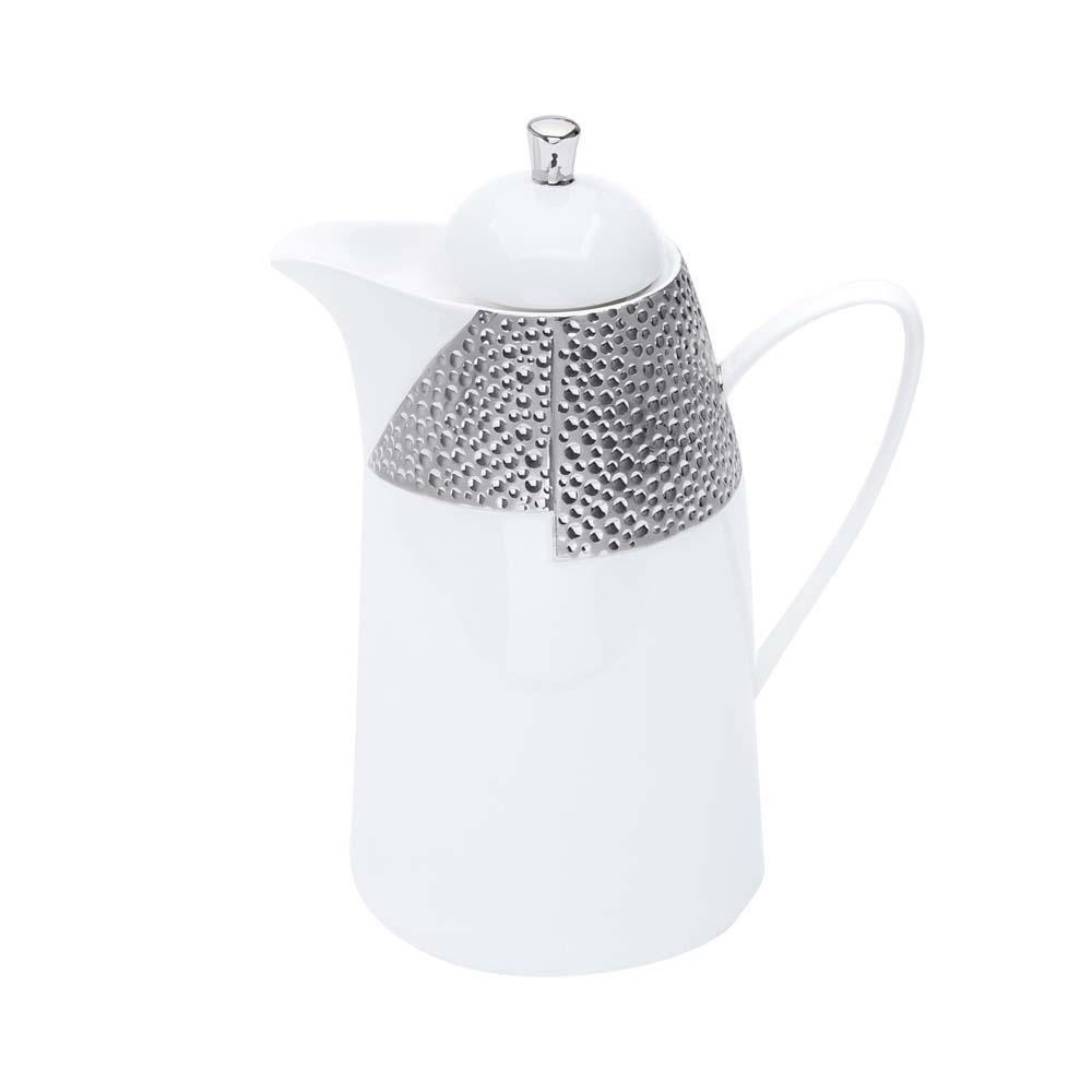 Garrafa Térmica de Porcelana com Ampola de Vidro Dots