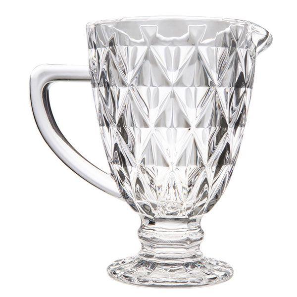 Jarra de Vidro 1L Diamond Clear