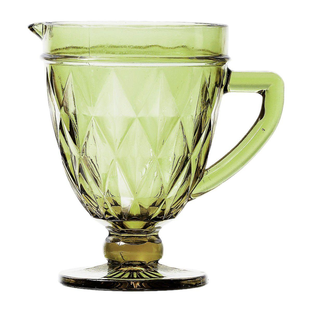 Jarra de Vidro 1L Diamond Verde