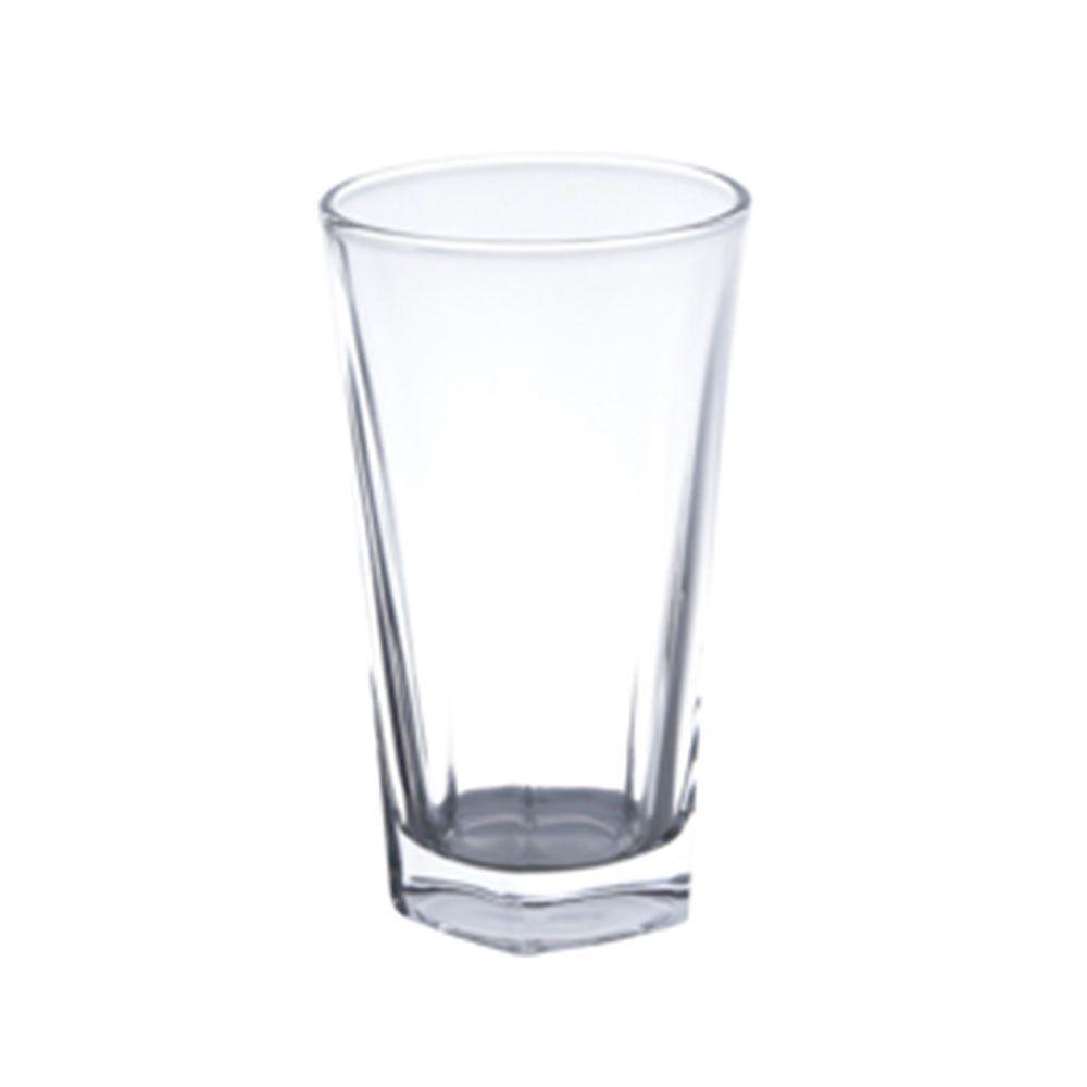 Jogo 6 Copos Alto Vidro Transparente 336ml