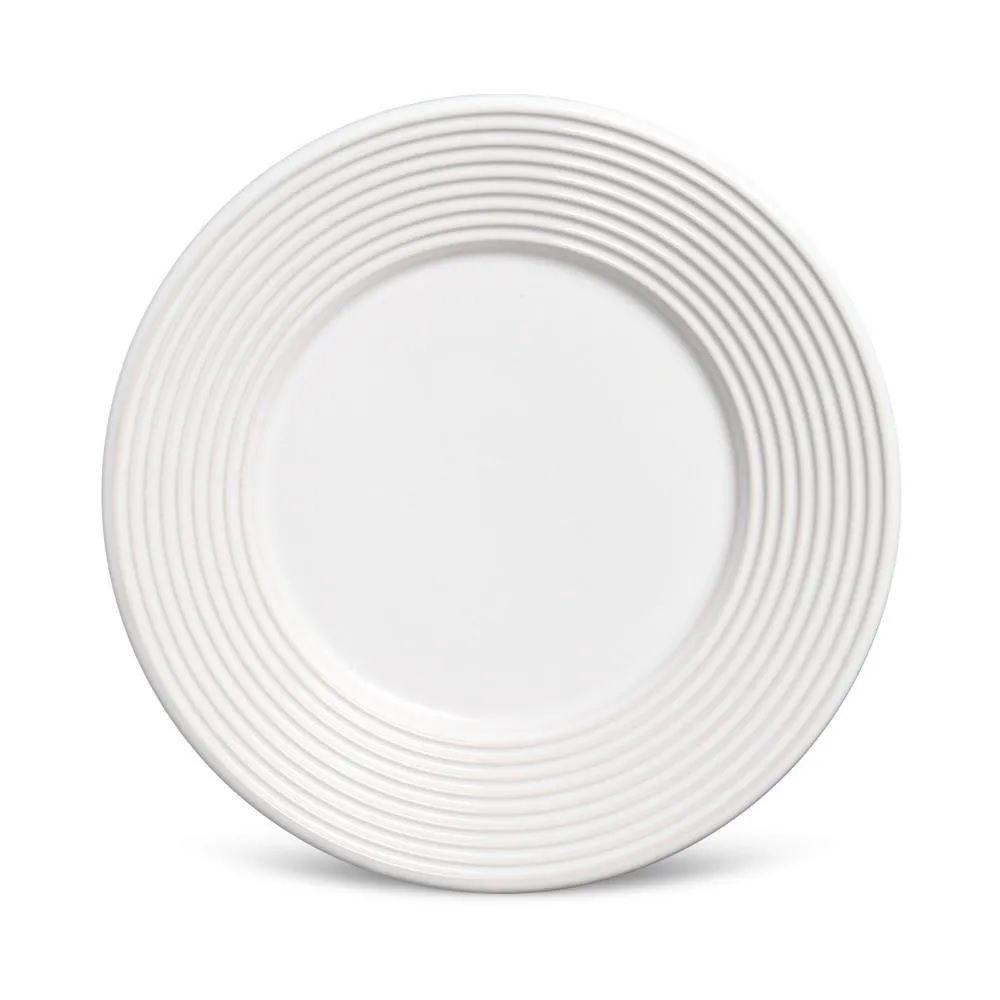 Jogo 6 Pratos Sobremesa Argos Branco - Schmidt