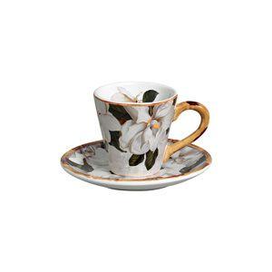 Jogo 6 Xícaras de Chá Magnolia