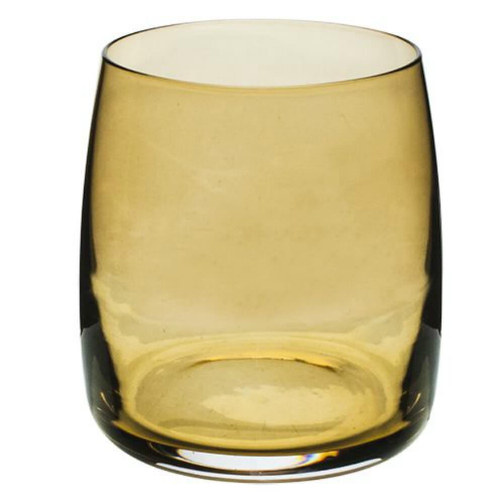 Jogo Copos Baixos Ideal 290 ml Ambar - Bohemia