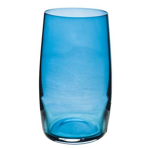 Jogo Copos Long Drink Ideal 380 ml Azul - Bohemia