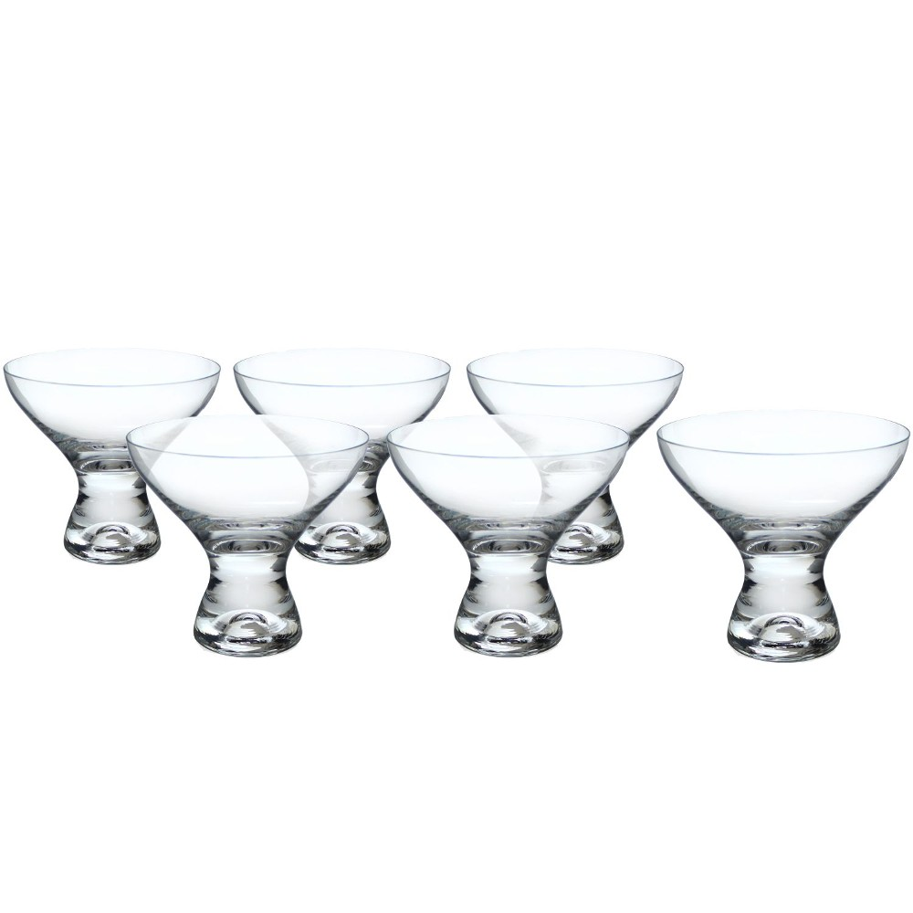 Jogo Taças Sobremesa Cristal 330 ml Leda- Bohemia