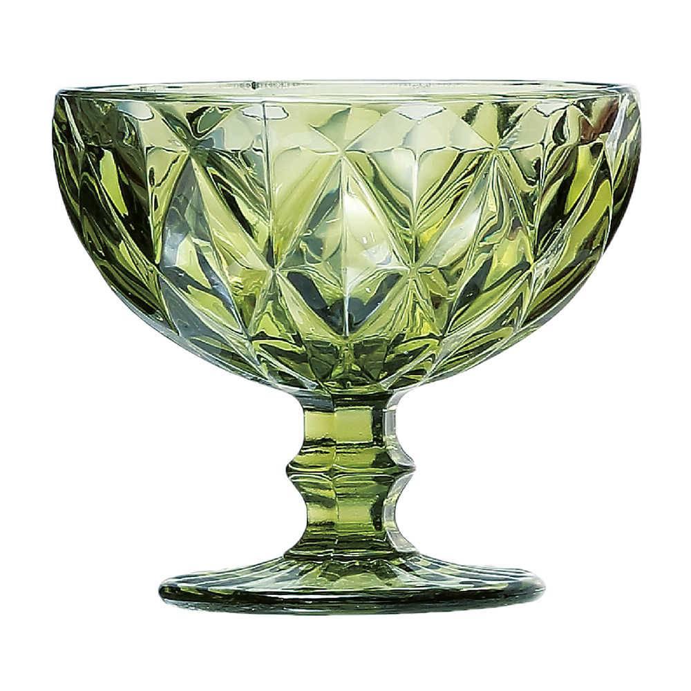 Jogo Taças Sobremesa Diamond Verde