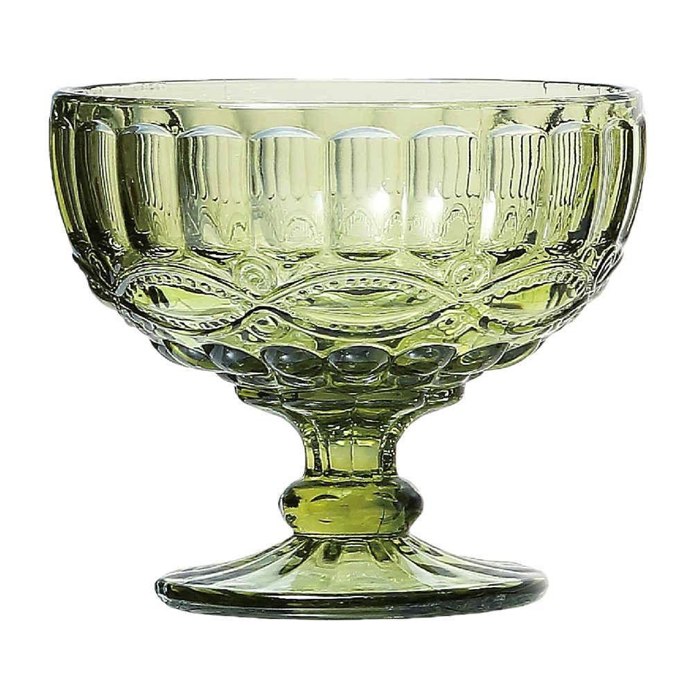 Jogo Taças Sobremesa Elegance Verde