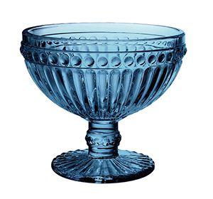 Jogo Taças Sobremesa Empire Azul