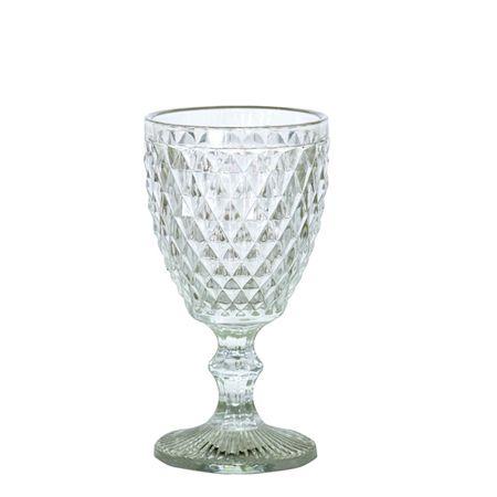 Jogo Taças Vinho Bico de Abacaxi Clear - MStyle