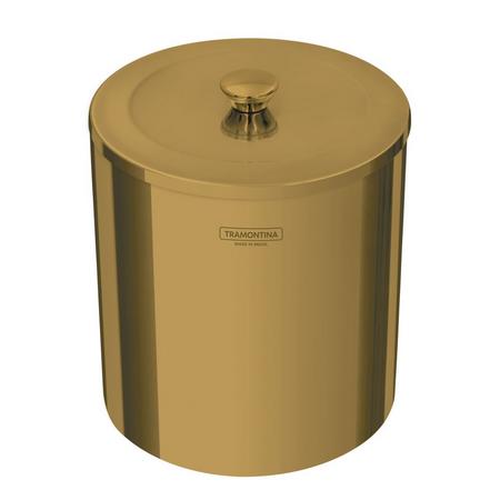 LIXEIRA  5L  GOLD -TRAMONTINA