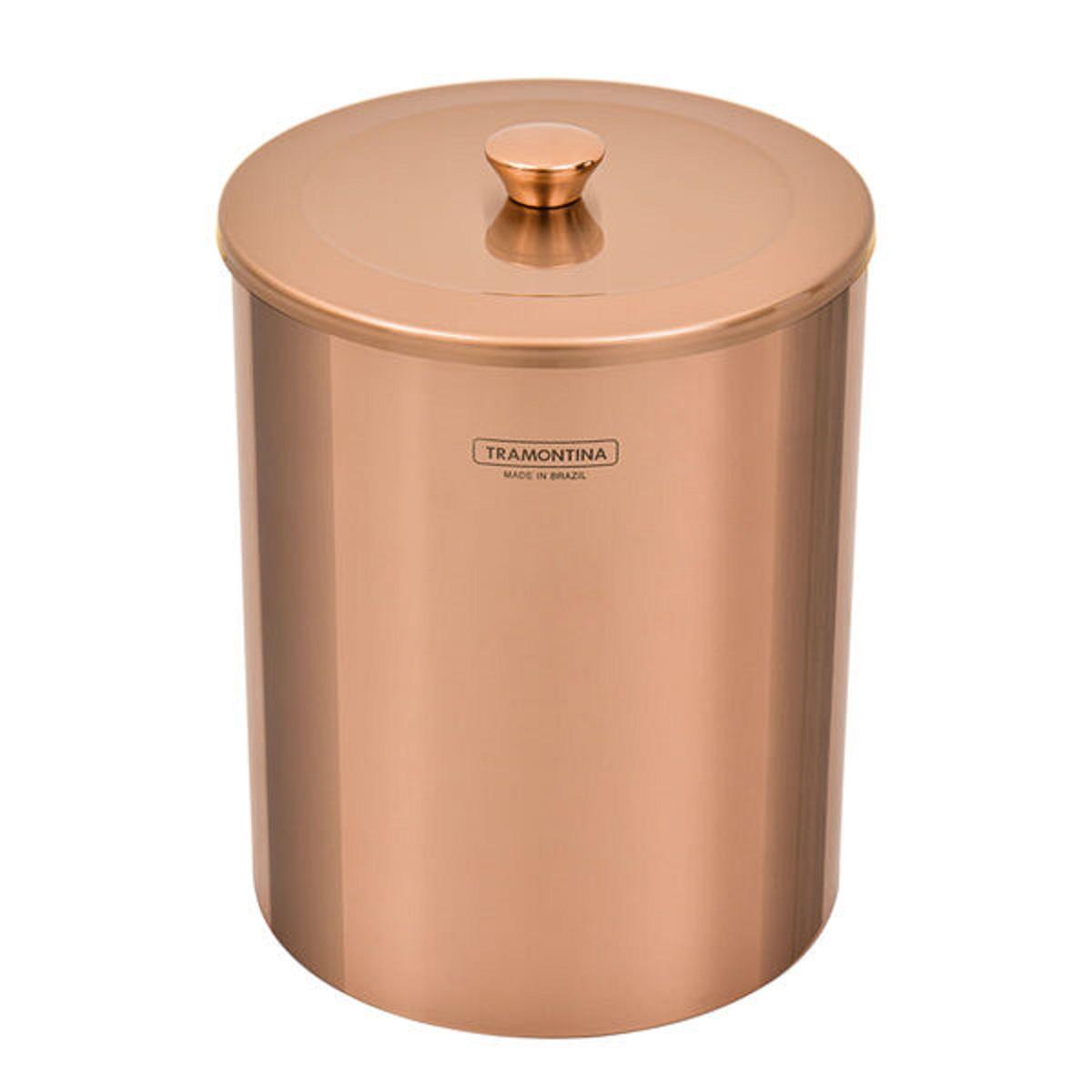 LIXEIRA 5L  ROSE GOLD -TRAMONTINA
