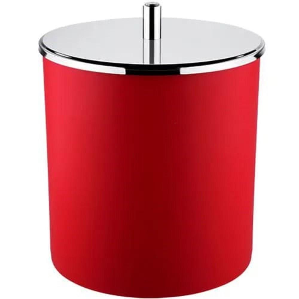 Lixeira Inox 3400/222 c/tampa - Brinox