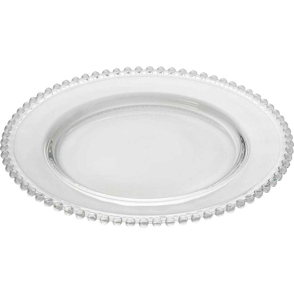 Sousplat  Cristal Pearl Clear 31,5 CM