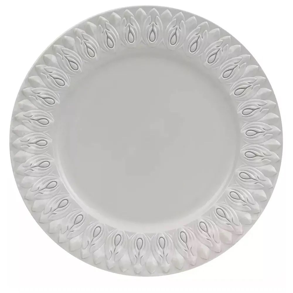 Sousplat Greco 946170 Jonico Cimento 36cm - Copa